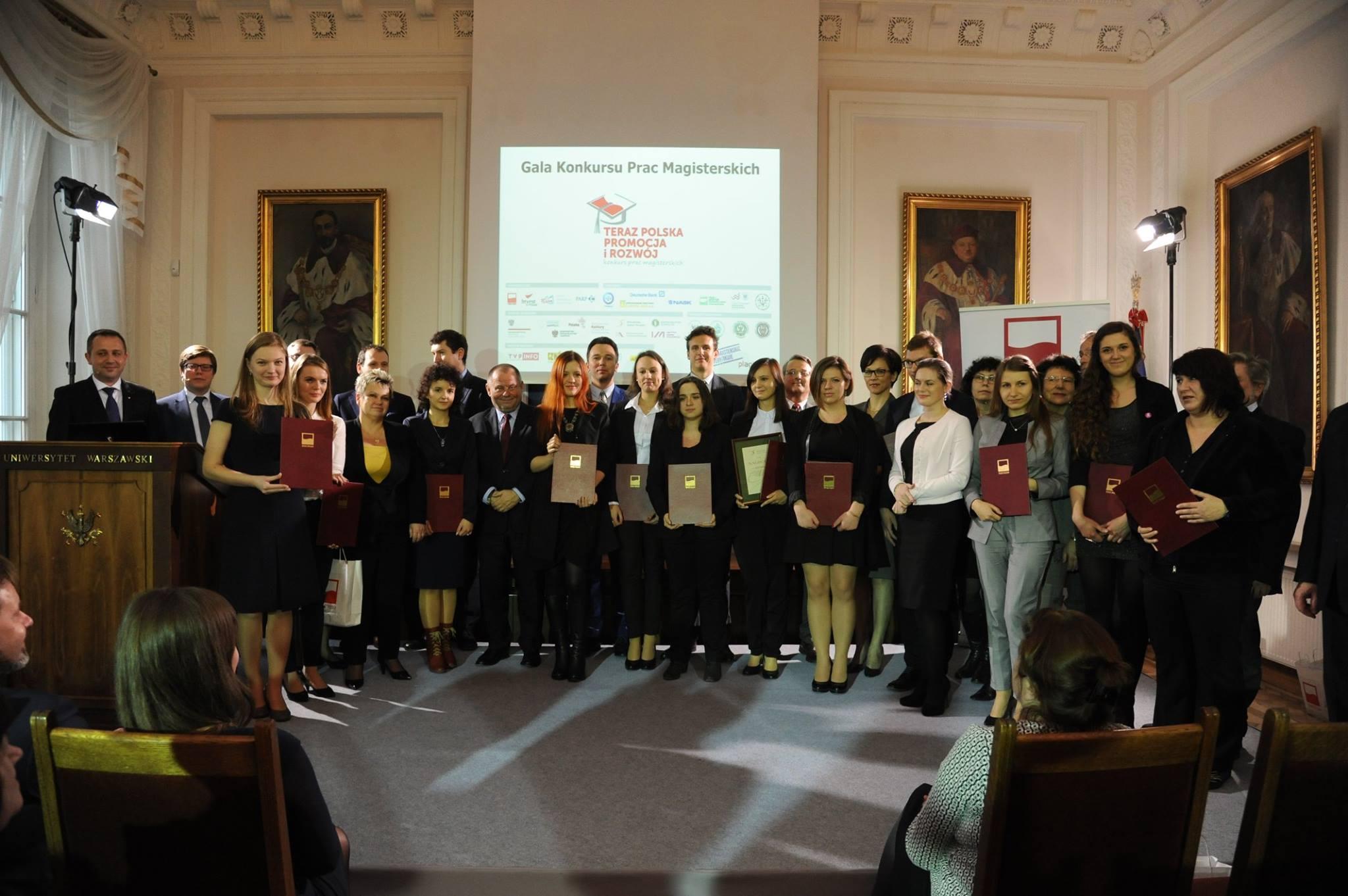 Gala Konkursu Prac Magisterskich